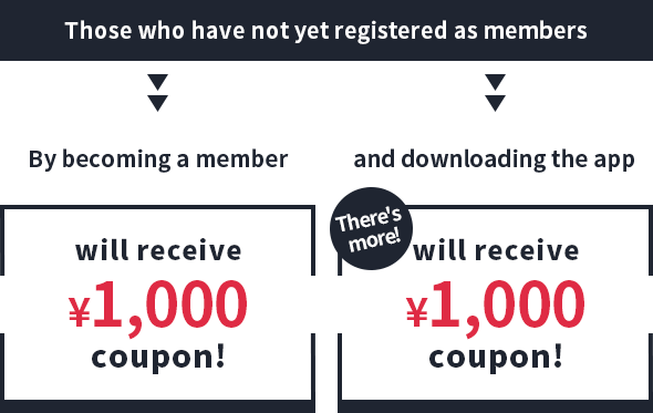 Those who have not yet registered as members
