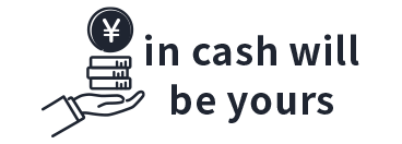 in cash will be yours