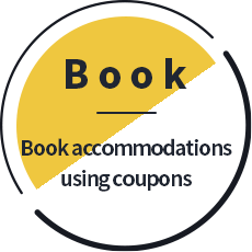 Book. Book accommodations using coupons